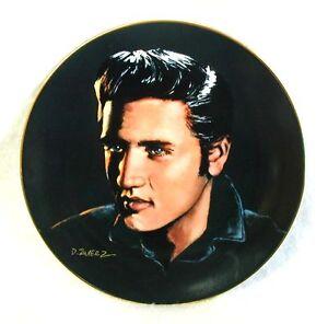 ELVIS-PRESLEY-Plate-Love-Me-Tender-Plate-One-PORTRAITS-of-the-KING-8-1-2
