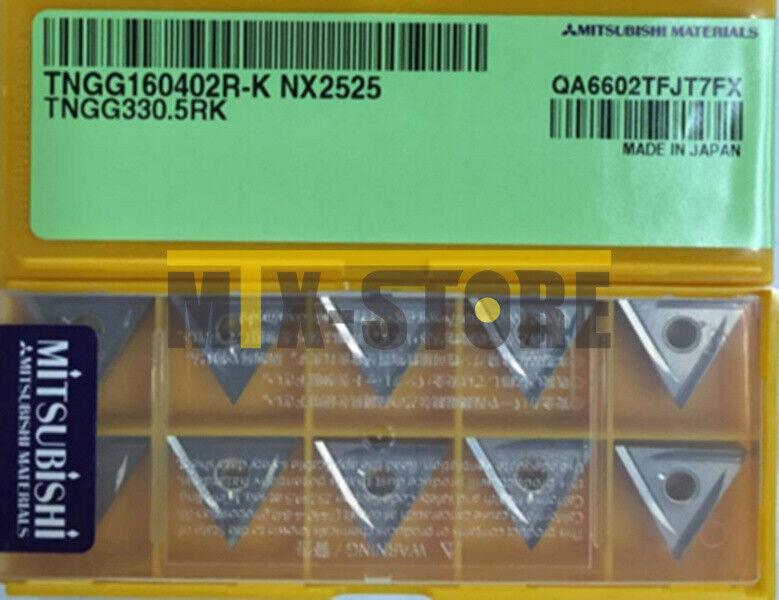 10PCS Box NEW MITSUBISI TNGG160402R-K NX2525