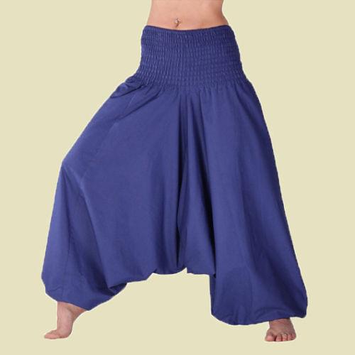 Men /& Women Harem Pants Cotton Baggy Yoga Afgani Geni Indian Aladdin Trouser