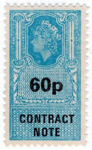 I-B-Elizabeth-II-Revenue-Contract-Note-60p