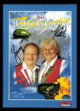 Die Glückskäfer Autogrammkarte Original Signiert ## BC 42533