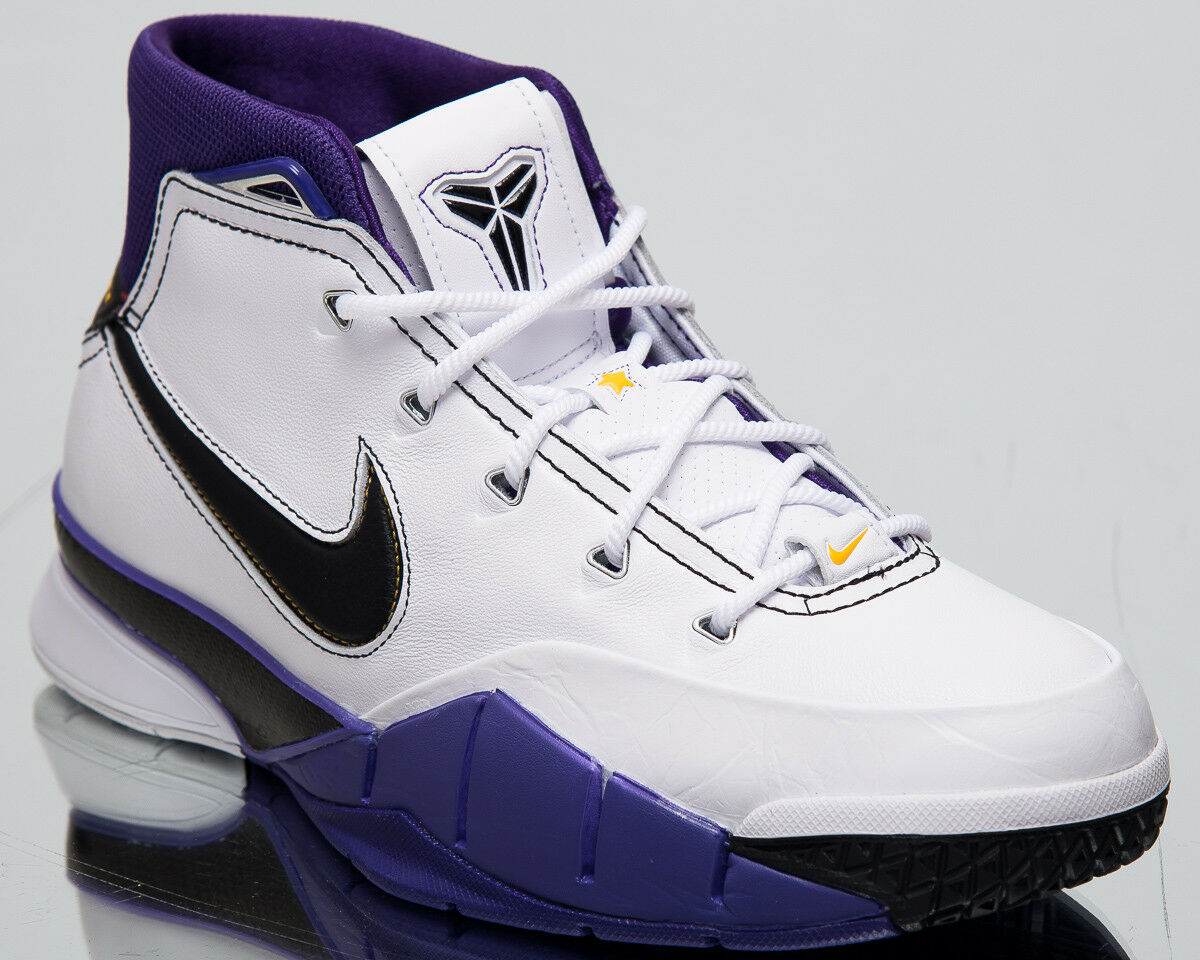 Nike Kobe 1 prossoro  81 punti  UOMO NUOVO BIANCO NERO SCARPE DA BASKET AQ2728-105