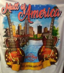 Hard-Rock-Cafe-MINNEAPOLIS-MALL-of-AMERICA-2019-T-SHIRT-Men-Size-2X-XXL-City-Tee