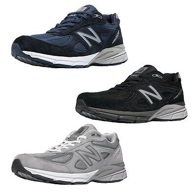 pretty nice c8997 26a56 Men's New Balance M990v4 Running Shoe M990NV4 M990BK4 M990GL4 D thru 6E USA  Made | eBay