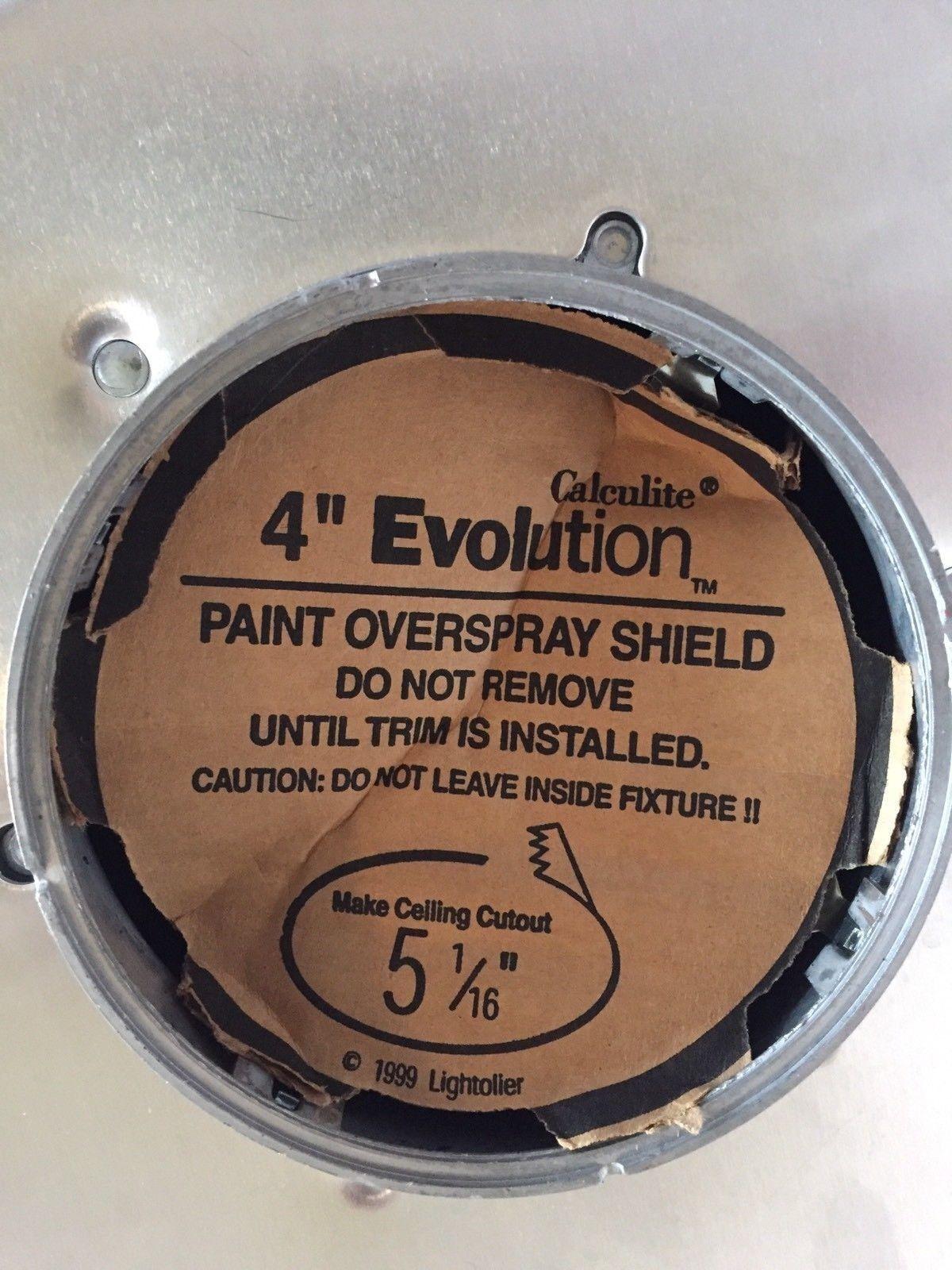 Phillips Lighttolier C4120 Calculite Evolution 4 1//2 inch Aperture Incandescent