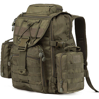 Waterproof 60L Waterproof Outdoor Sports Backpack Hiking Travel Gym Tactical Bag