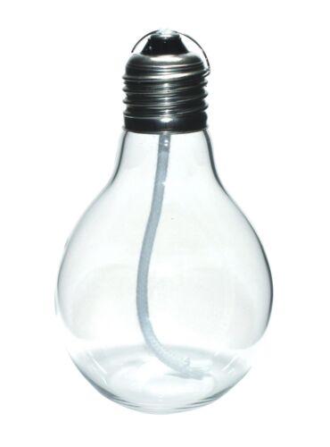 Öllampe EDISON Ölkerze in Glühlampen-Form Petroleumlampe Öllampen von GlasXpert
