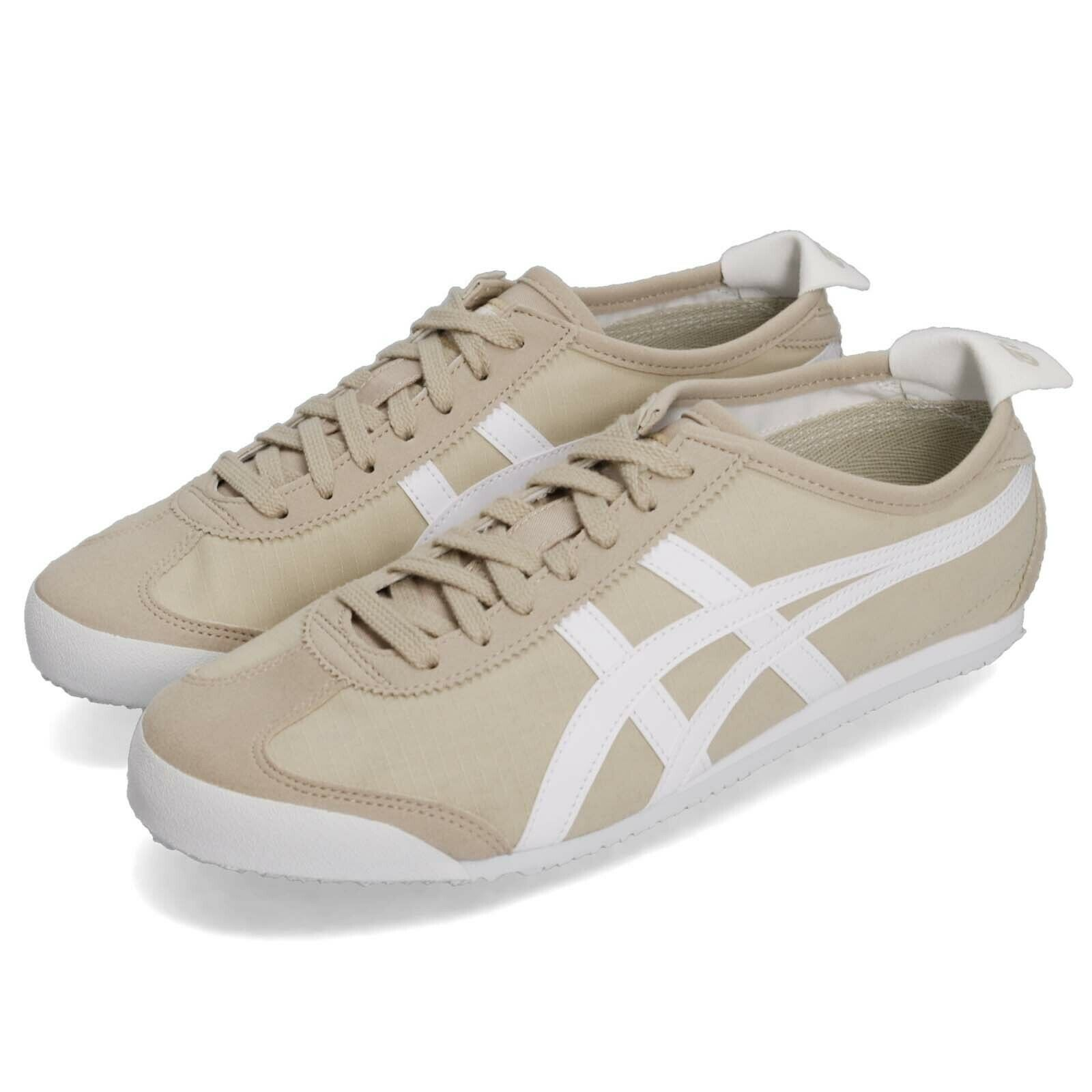 Asics Onitsuka Tiger Mexico 66 Simply Taupe bianca uomini donna sautope 1183A223250