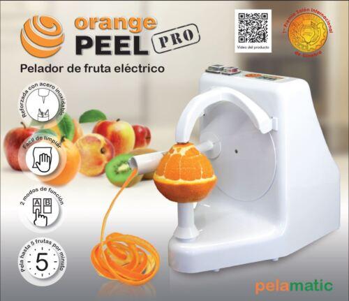 Peeling Machine From Pelamatic Sl Orange Pelatrice Professionale