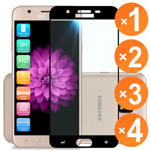 For-Samsung-Galaxy-J7-Aura-J7-Crown-Full-Screen-Tempered-Glass-Screen-Protector