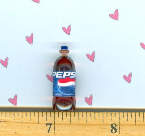 Dollhouse Miniature Size Cola Pop Bottle # P