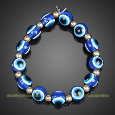 Fashion Blue Turkey Jewelery Evil Eyes Lovely Eyeballs Style Bracelet