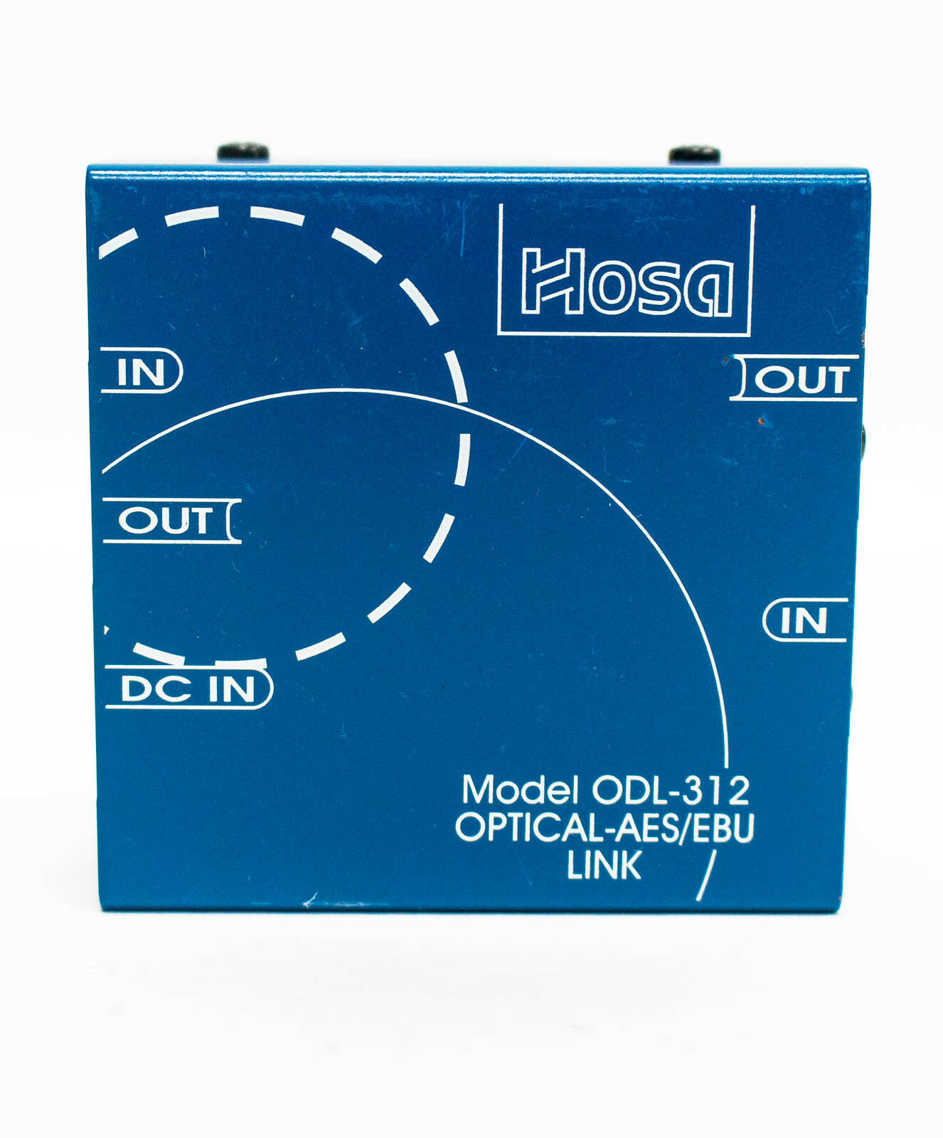 Hosa Technology ODL-312 - Bi-Directional Optical S PDIF to XLR AES EBU Data Link