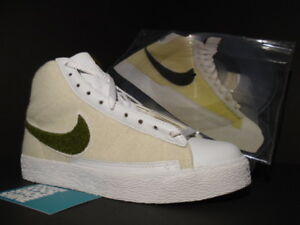 official photos 14fdf 5164c Details about 05 NIKE DUNK BLAZER MID 73 STUSSY CLERKS PACK VAPOR SAFARI  RECORD 312209-231 6.5