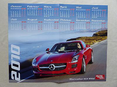 Mercedes-benz Sls Amg - Poster Kalender 2010
