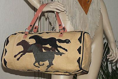 tasche,tragetasche,pferde,44x28cm,bag,western,indianer,shopper,handtasche,cowboy