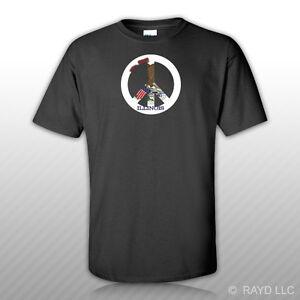 Illinois Flag Peace Symbol T-Shirt Tee Shirt Cotton IL sign no war