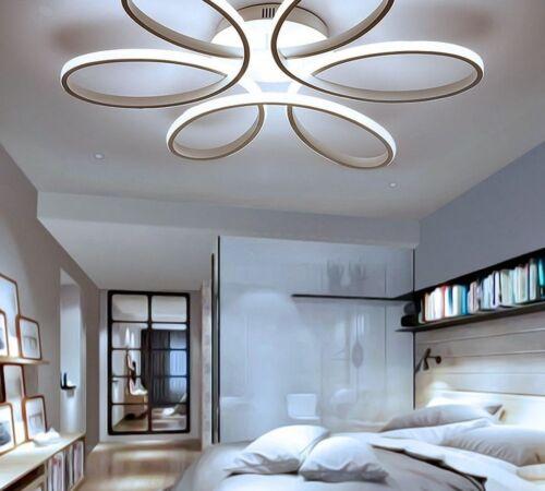 Modern LED Chandelier Aluminum Living Dining Room Bedroom Light Ceiling Fixture