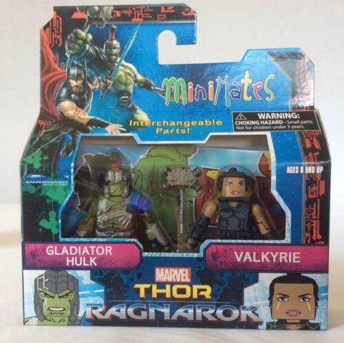 Marvel Thor Ragnarok Minimates COMPLETE Lot of 3 Two Packs Toys R Us Hela Hulk