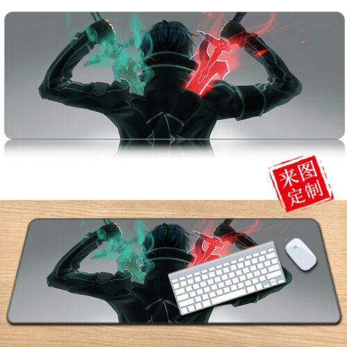 Sword Art Online Anime Mouse Pad Play Mat Large Game Mouse Pad Mat Waterproof