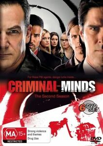 Criminal-Minds-The-Second-Season-2-Series-DVD-FREE-POST