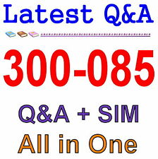 Cisco Best Practice Material For 300-085 Exam Q&A PDF+SIM