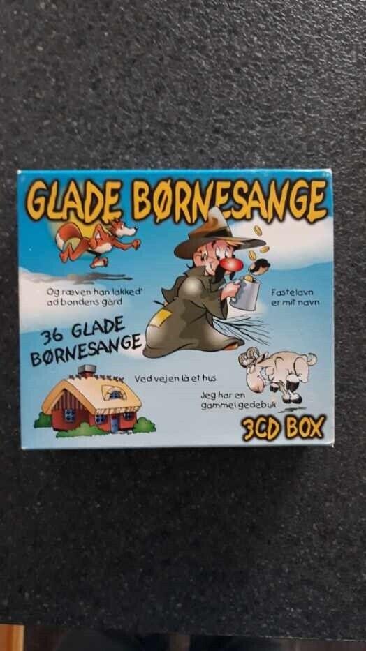 Diverse: Glade børnesange, børne-CD