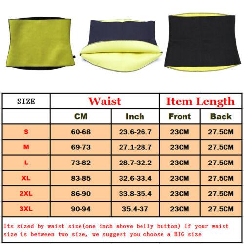 Women/'s Waist Trimmer Belt Slim Body Sweat Wrap for Stomach Back Lumbar Support