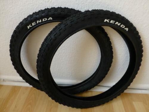 47-406 Pneus de vélo Kenda k-50 20x1,75 pouces BMX 20 pouces pneu noir 2 pièces