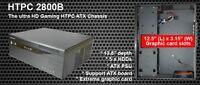 Brand new nMedia HTPC 2800B Black ATX Desktop HTPC Case