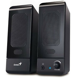 GENIUS-BLACK-MULTIMEDIA-STEREO-SPEAKERS-SYSTEM-FOR-LAPTOP-DESKTOP-PC-COMPUTER