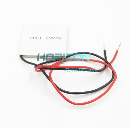 5PCS TEC1-12709 Heatsink Thermoelectric Cooler Cooling Peltier Plate Module new