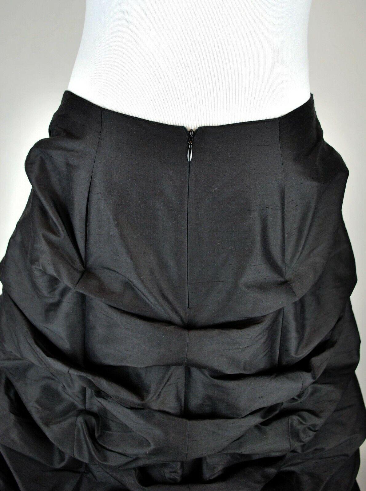 Gothic Balloon Skirt Bustle Gathered Steampunk Vi… - image 7