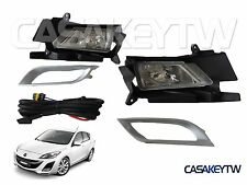NEW 2010-11 MAZDA 3 FOG LIGHT LAMP FOGLIGHT KIT SET PAIR FOGLAMP RH LH FM31