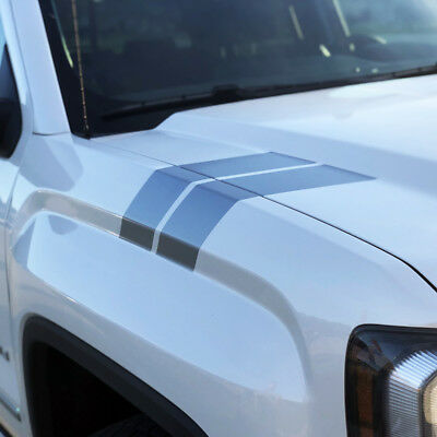 2016 2017 2018 Ford Explorer Fender Racing Hash Stripes Decal Set