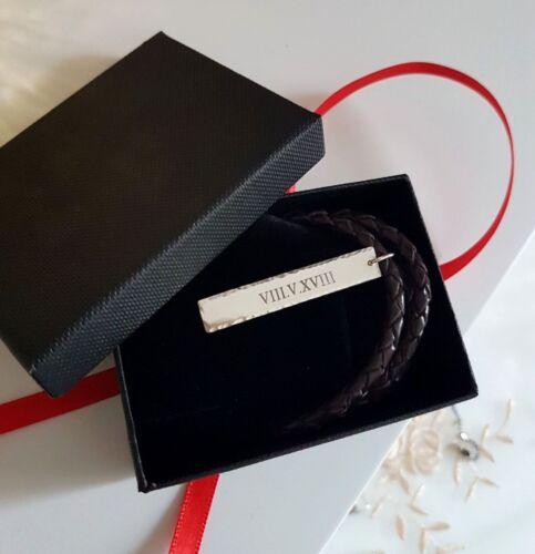 Personalizado Joyería Grabado Personalizado Para Regalo de Barra de ID de hombre Colgante Para hombres Collar