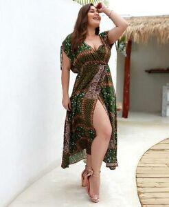 Sexy-women-summer-plus-size-cocktail-floral-beach-dress-maxi-party-midi-sundress