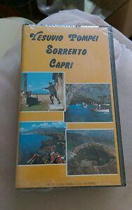Vesuvio-Pompei-Sorrento-Capri-ITALY-Italian-ntsc-Vhs-Video-Tape-Sealed-Vintage