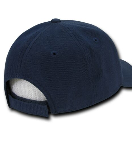 Navy Blue Scrambled Egg Eggs Oak Leaf Visor Military Officer/'s Baseball Cap Hat