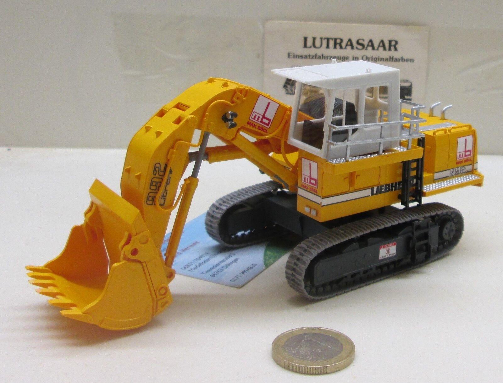 Mbs002  LIEBHERR 992 chenilles excavatrice avec hochlöffel  MAX BÖGL  (416)