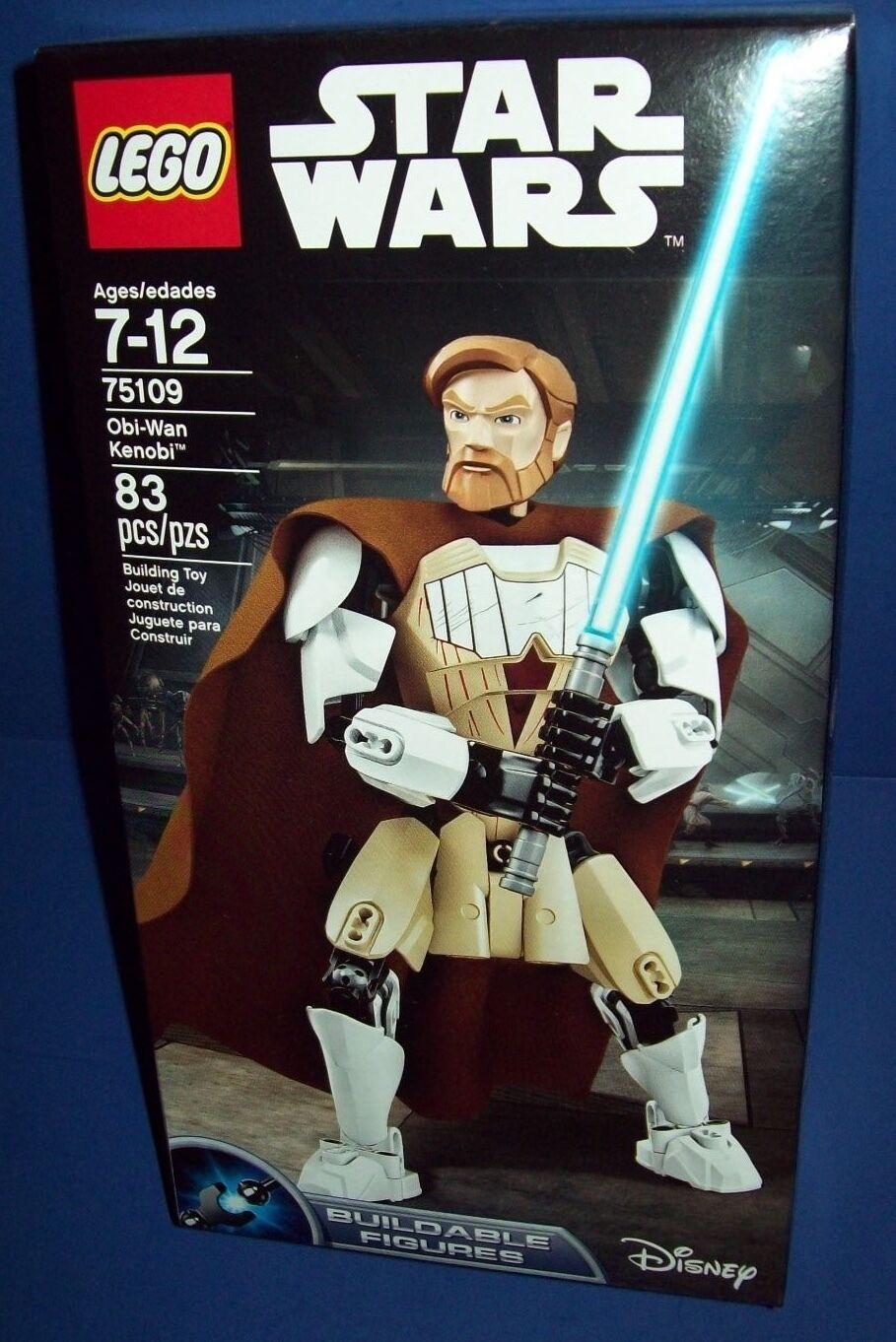 LEGO 75109 OBI-WAN KENOBI  STAR WARS NISB new HTF retiROT buildable figures