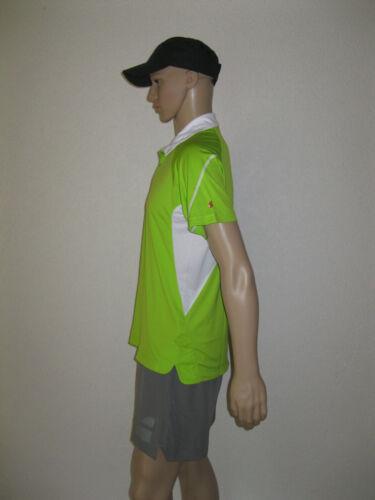 Babolat Polo Halfzip Perf Men Grün mit Druckknöpfen