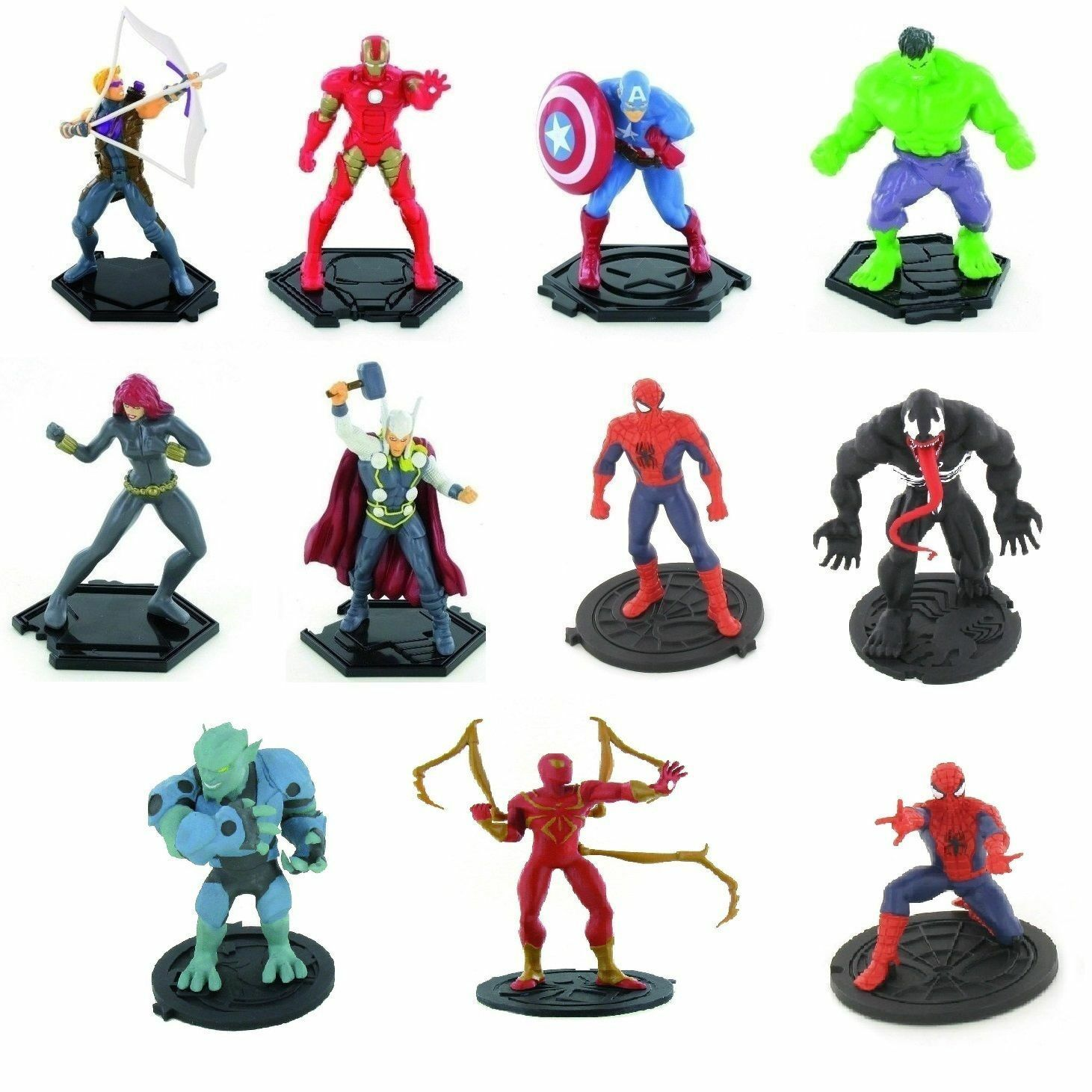 Comansi Figuren Auswahl Ultimate Spiderman Superhelden-Marvel