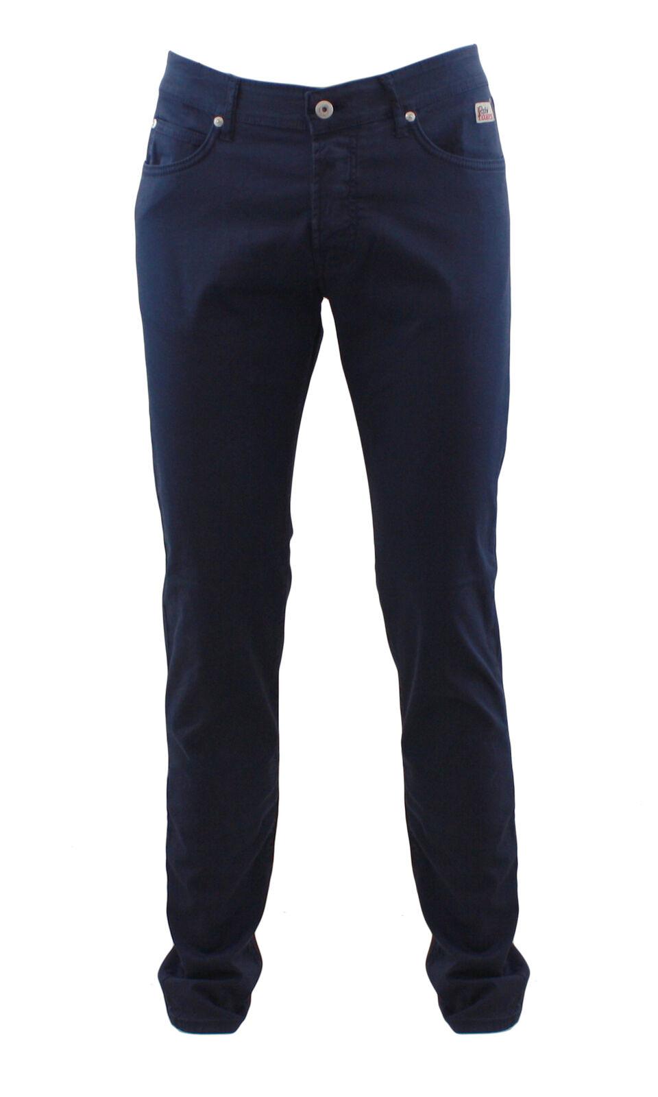 Roy Roger's pantalone da uomo colore blu Roy Roger's Roger's Roger's 529 SUMMERBLU b9f23e