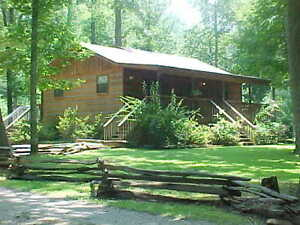 Etonnant Image Is Loading LOG CABIN VACATION RENTAL COSBY GATLINBURG PIGEON FORGE
