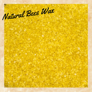 100/% Pure and Natural 50g Yellow Beeswax Pellets
