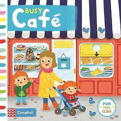 Busy Café (Busy Books) by Forshaw, Louise, NEW Book, FREE & Fast Delivery, (Boar