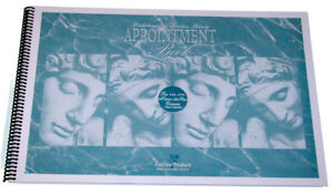 Salon Appointment Book 12 - COLUMN BOOK SPIRAL BOUND fun time products