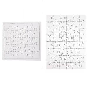Blanko Puzzle Malkarton Malpappe Bastelpuzzle Fotopuzzle Selber