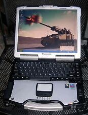 Panasonic Toughbook CF-29 MK-5 TOUCHSCREEN BACKLIT WI-FI XP PRO CD-RW/DVD LOADED